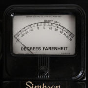 Vintage Simpson Temperature Tester